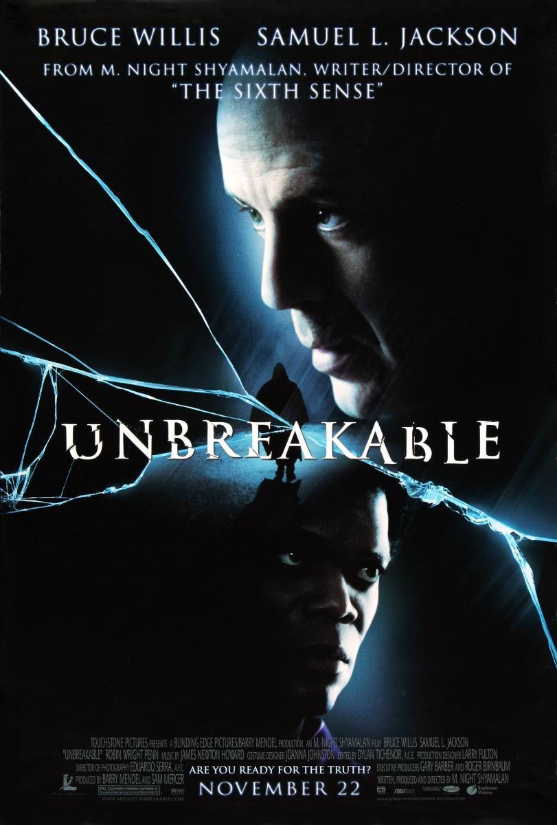 Download Unbreakable (2000) Full Movie in Hindi Dual Audio BluRay 720p [1GB]