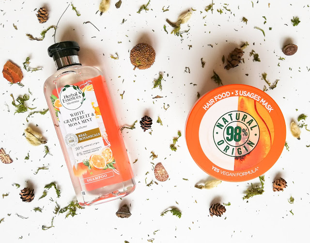 Nákupy Garnier Herbal essences