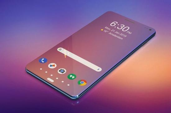 Samsung A100 concept phone (picture source letsgodigital)