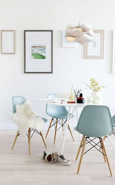 Pretty in Pastel - Dining Room