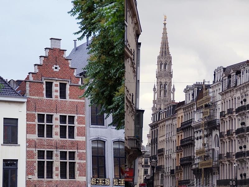 Brüssel: Historische Fassaden und Groote Markt