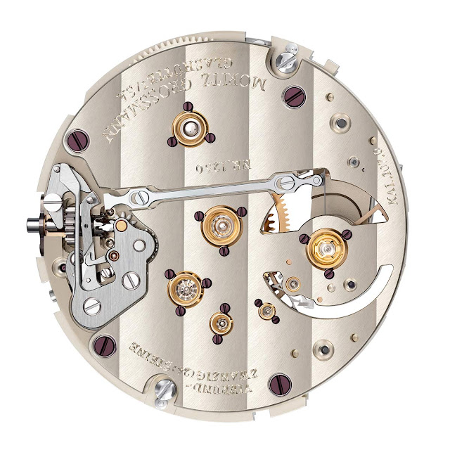 The Calibre 107.0 equipping the Moritz Grossmann ATUM Backpage