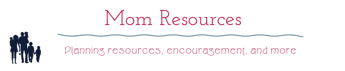 Resources for homeschooling moms