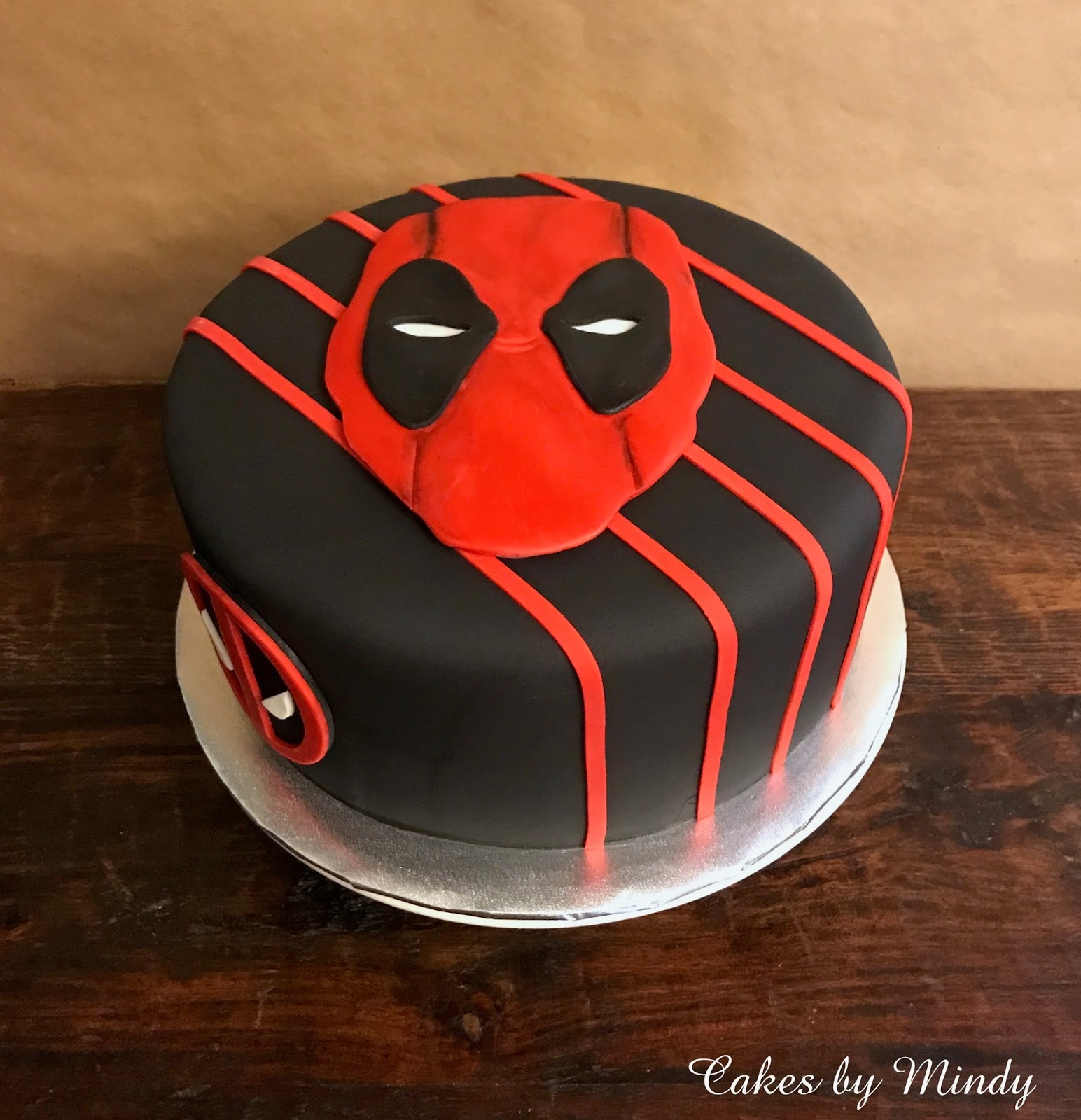 Cakes By Mindy Deadpool Cake 10 Quot