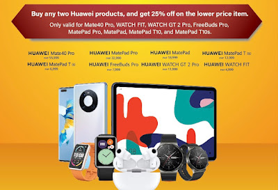 Two Gadgets are Better than One: Get Fantastic Savings at the Huawei Bundle Festival this May