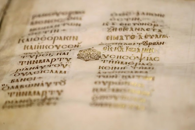 Greek team digitizing ancient Christian manuscripts at Sinai monastery