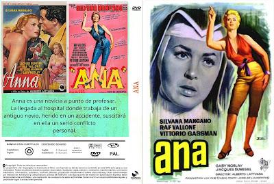 Carátula Dvd: Ana (1951) Anna
