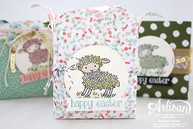 Easter Lamb Treat Boxes ~ Susan Wong