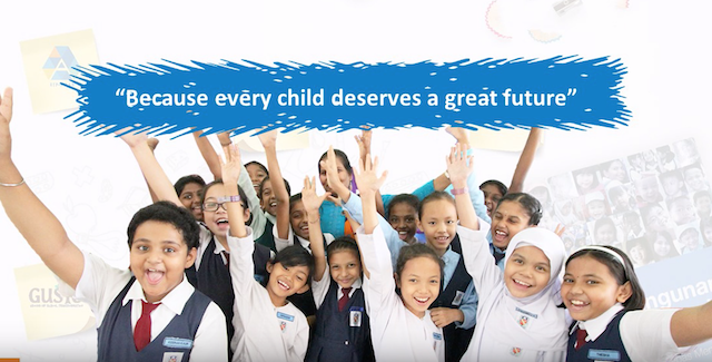 Because every child deserves a great future indeed.