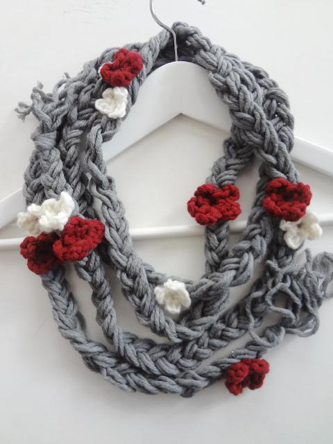 No-Crochet Lariat