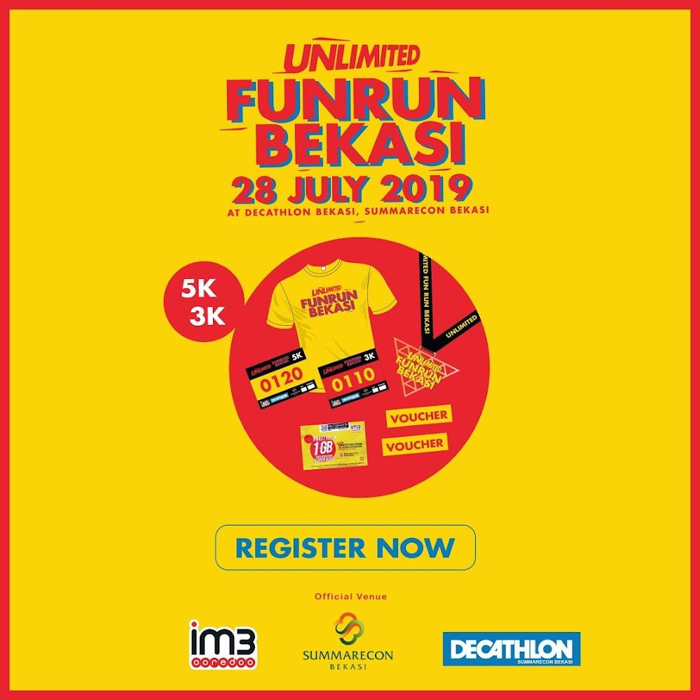 Unlimited Fun Run Bekasi • 2019