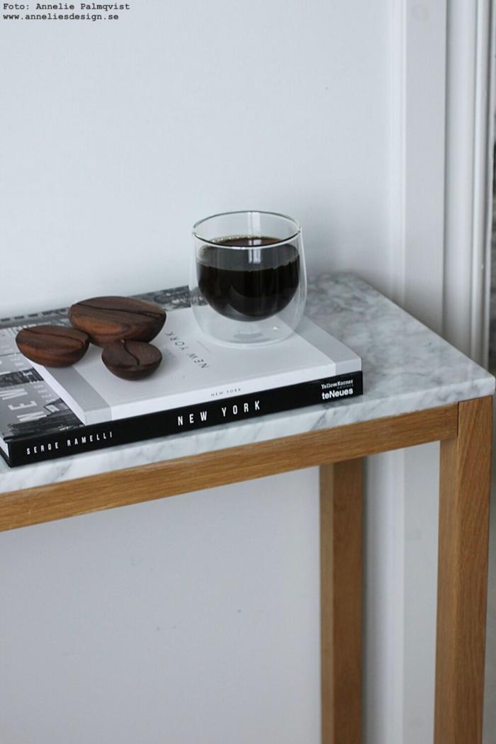 annelies design, webbutik, webbutiker, webshop, kaffeböna, kaffebönor, mugg med dubbla glas, alexander ortlieb, bönor, kaffe,