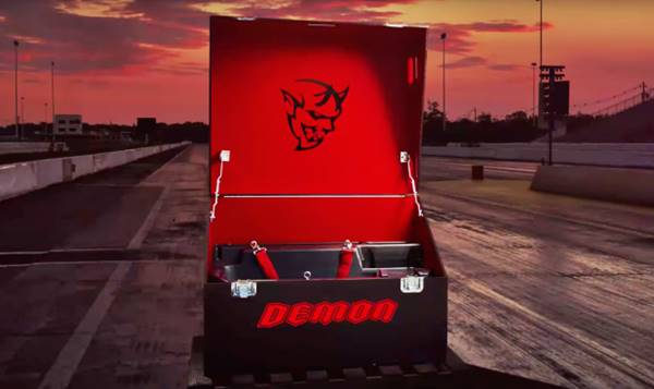 2018 Dodge Demon: Forget AWD; New Video Confirms RWD and Big Box of Stuff for Owners