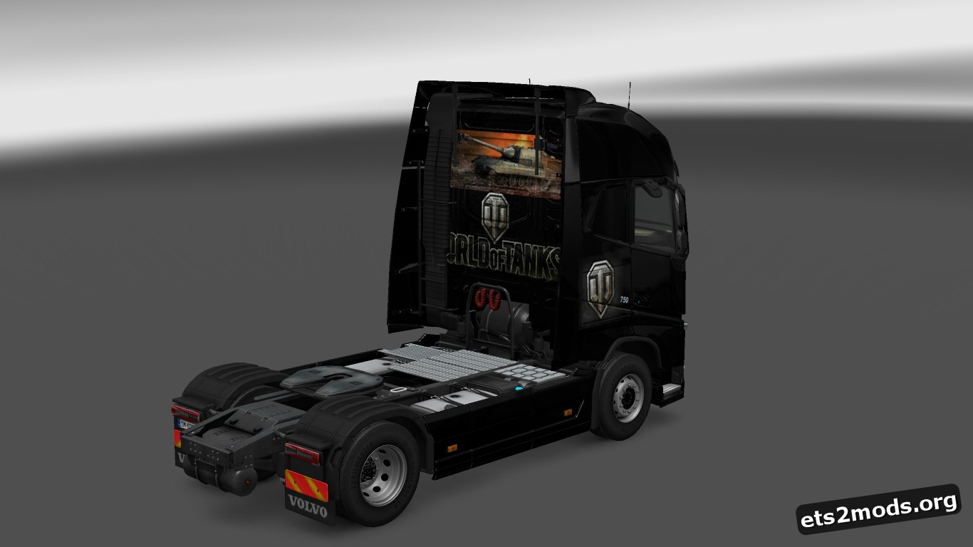 World of Tanks Skin for Volvo 2012