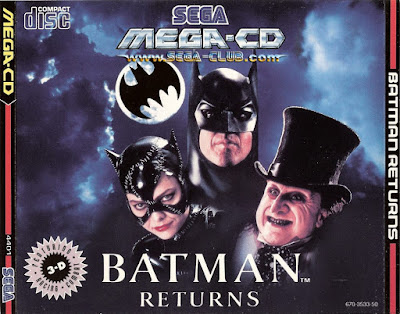 Batman Returns videojuego mega-cd