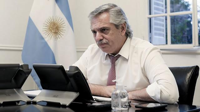 """""""Hablé con el FMI para ponernos a trabajar y ordenar el desorden que heredamos"""", dijo Fernández"""