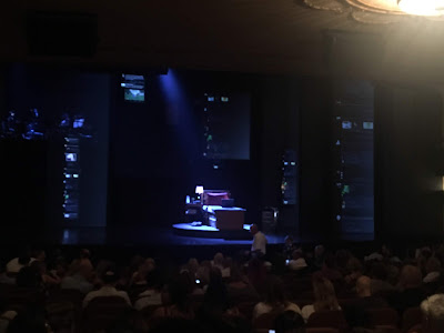 View of Dear Evan Hansen from Standing Room on Broadway