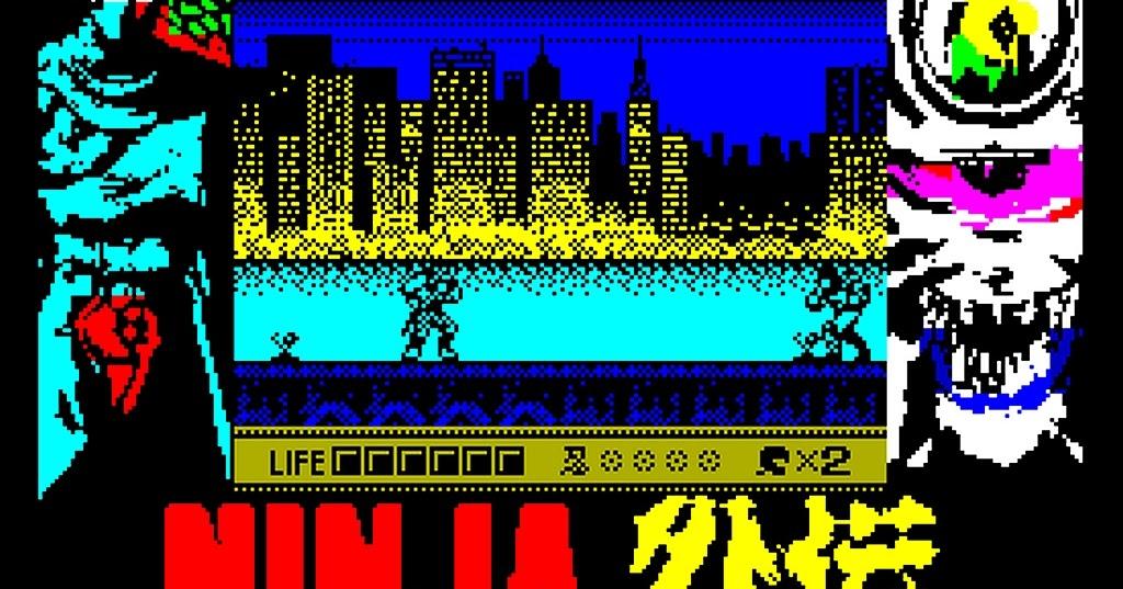 Indie Retro News Ninja Gaiden Shadow Warriors A Gameboy Game Is Coming To The Zx Spectrum