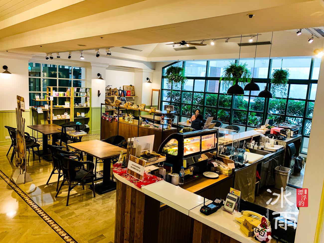 陽明山天籟溫泉會館|一樓咖啡館