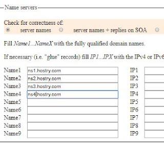 DNS untuk domain eu.org