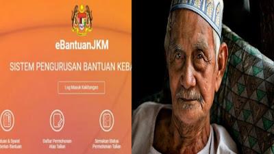 Permohonan Bantuan Bulanan Warga Emas JKM RM350 Online (Borang)