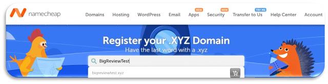 latest namecheap .xyz domain name coupons