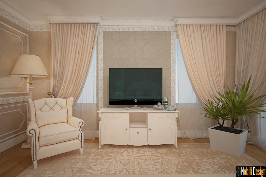 Design interior case vile clasice - Amenajari interioare mobilier clasic de lux Brasov