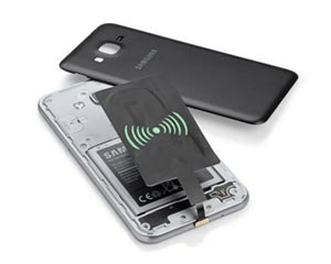wireless charger receiver coil