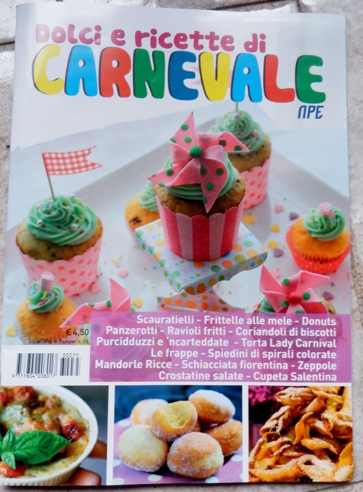 Elegraf grafica freelance dolci e ricette di carnevale for Ricette dolci di carnevale