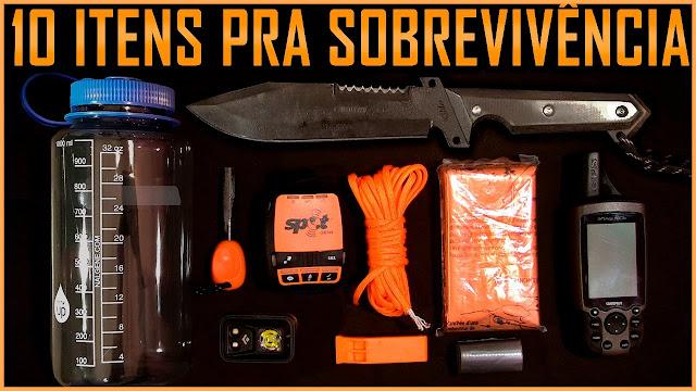 sobrevivência 10 Essentials