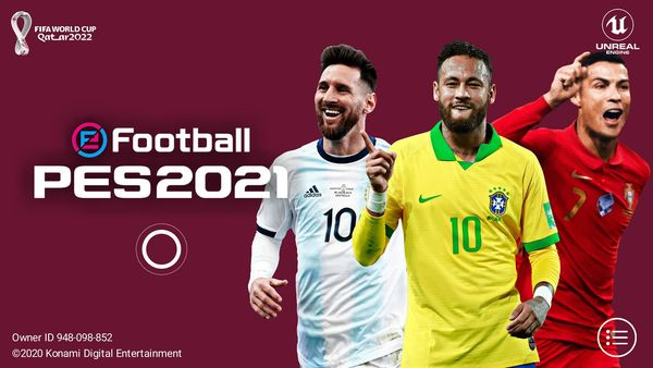 eFootball PES 2021 Mobile 5.2.0 FIFA World Cup 2022 Patch Download