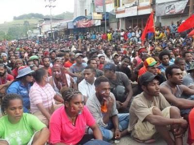 Pendukung KNPB dan ULMWP Bukan Segelintir Orang Namun Seluruh Rakyat Papua
