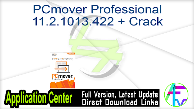 PCmover Professional 11.2.1013.422 + Crack