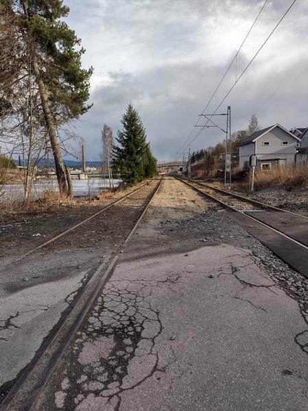 togspor jernbanespor skinnegang