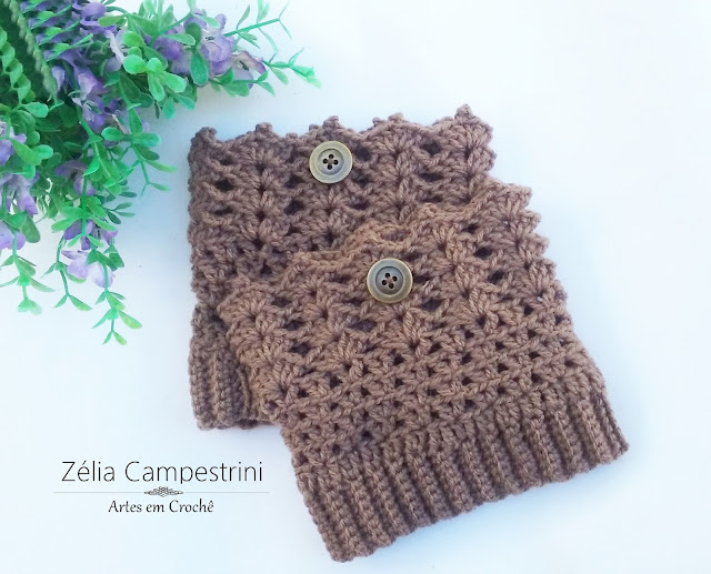 Polaina de bota - Boot cuffs
