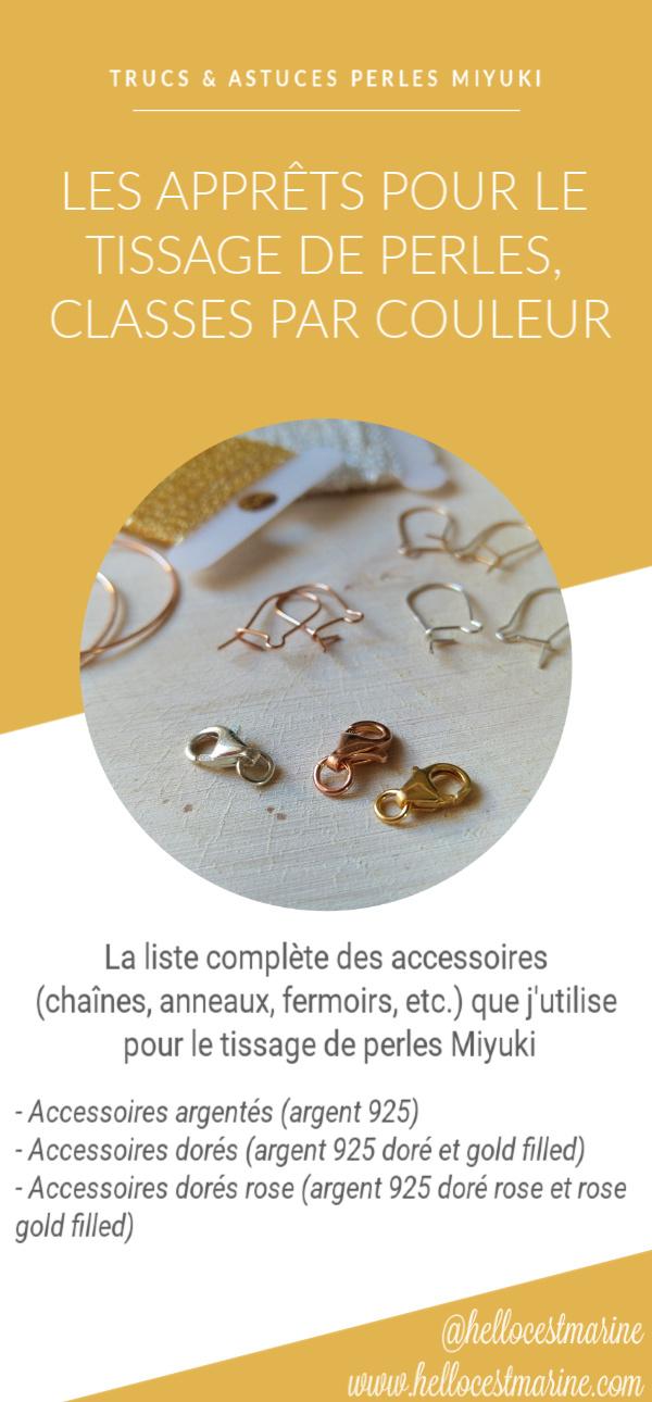 apprets dores, argentes, dores rose, pour tissage peyote, brickstitch, loom, square stitch, metier à tisser, en perles miyuki delicas 11/0 pinterest