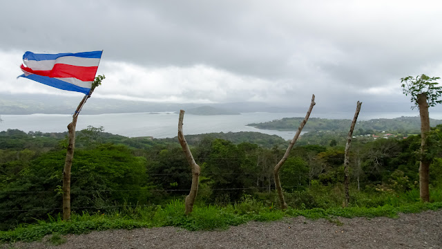 Different perspective on Lake Arenal