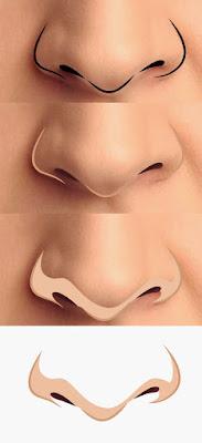 Desain Nose Art Yang Unik