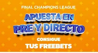 Mondobets promo Final Champions 2021