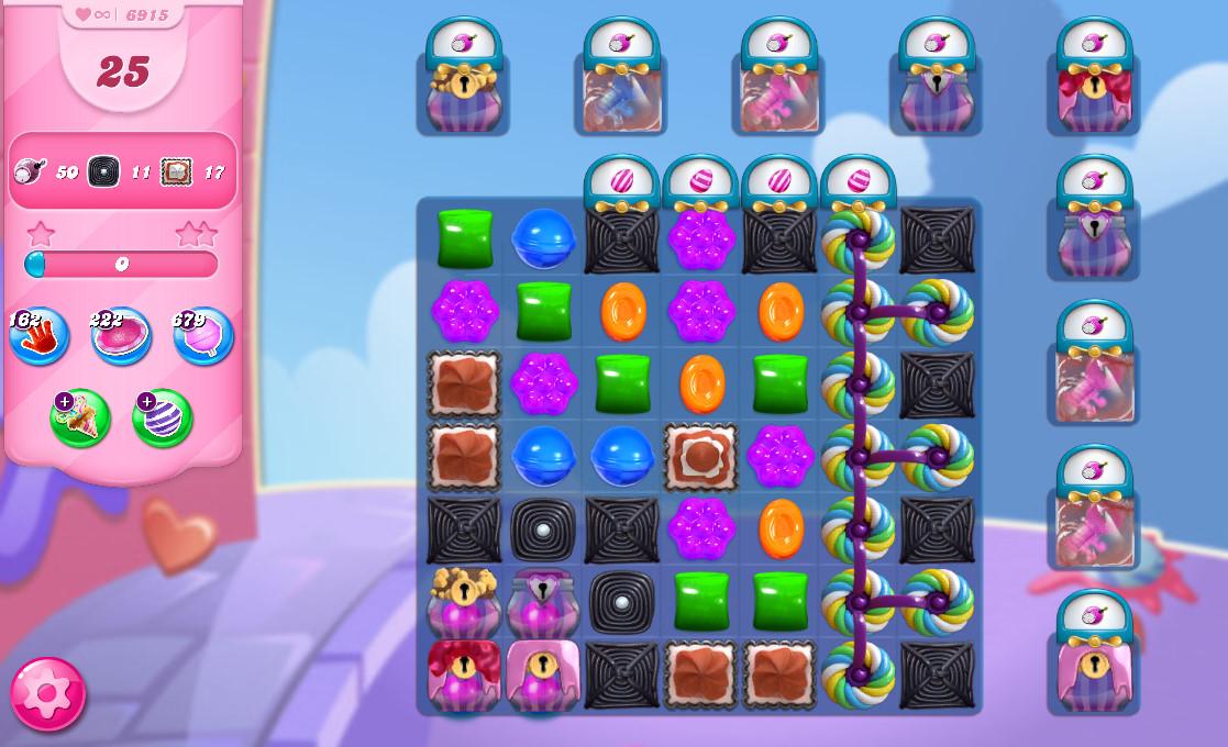 Candy Crush Saga level 6915