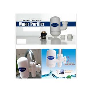 Purificateur d'eau Robinet purificateur avec filtre en céramique Cartouche purifiée