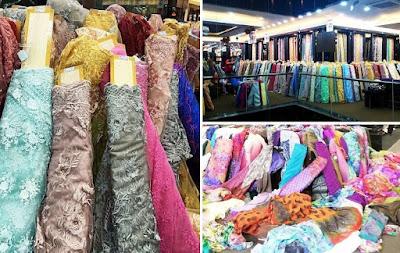 d fashion textile Medan