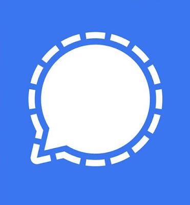 شعار تطبيق سيجنال الذي ينافس تطبيق واتساب