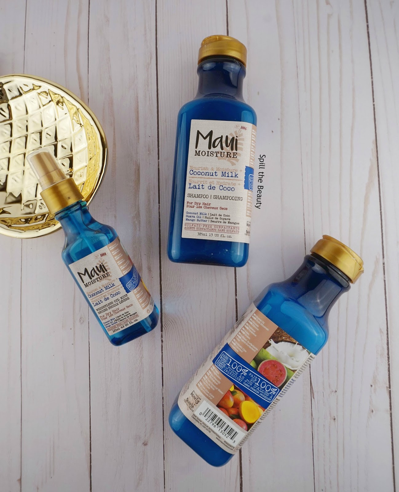 Maui Moisture 'Coconut Milk' Collection – Information