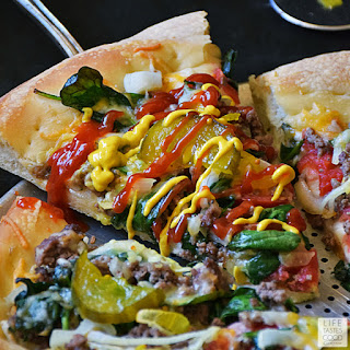 Cheeseburger Pizza Recipe | by Life Tastes Good