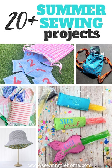Find your next summer sewing projects with this great list of patterns and tutorials.
