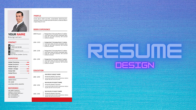 Corporate resume | Corporate resume format | Cv template | Professional cv template