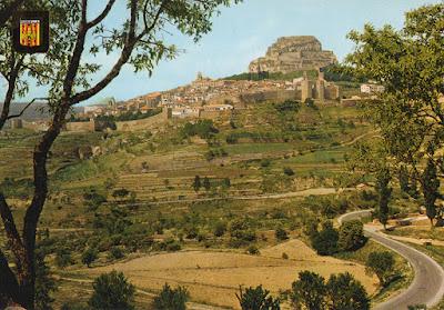postal, Morella, Castellón
