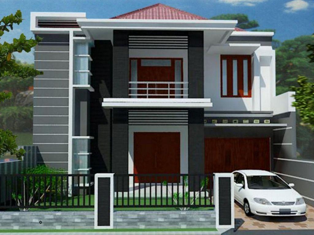 contoh rumah modern minimalis terlihat indah