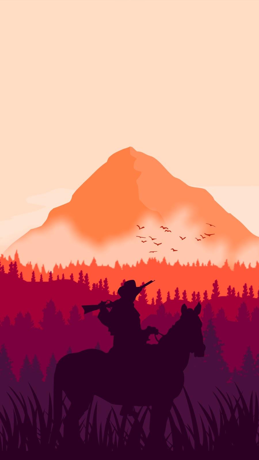 #reddeadredemption #minimalist #games #wallpapers